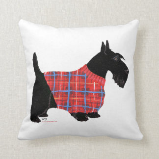 Scottish Terrier Sweater Pillow