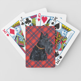 Scottish Terrier Tartan Deck of Cards