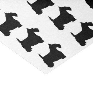 Scottish Terrier Tissue Paper