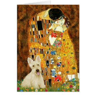 Scottish Terrier (W5) - The Kiss Card