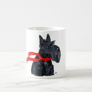 Scottish Terrier Winter Holiday Mug