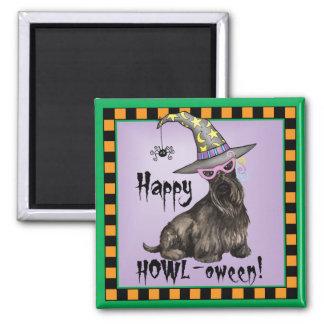 Scottish Terrier Witch Refrigerator Magnet