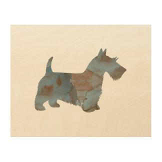 Scottish Terrier Wood Wall Art