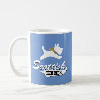 Scottish Terrier Your Background Color Coffee Mug