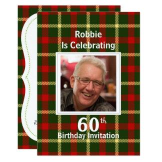 Scottish Themed Celebration Party Invitations