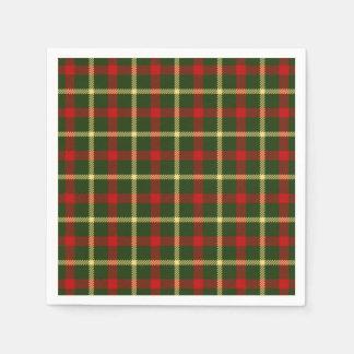 Scottish Themed Celebration Party Paper Napkin