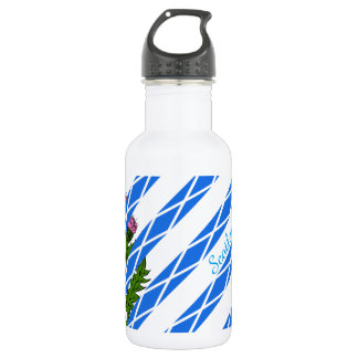 Scottish thistle 532 ml water bottle