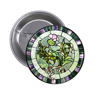 Scottish Thistle Pinback Buttons