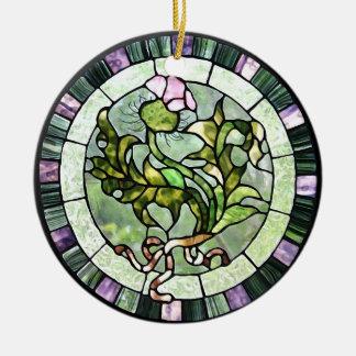 Scottish Thistle Ceramic Ornament