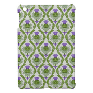 Scottish Thistle Damask Case For The iPad Mini