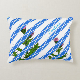 Scottish thistle decorative cushion