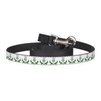 Scottish Thistle Dog Lead