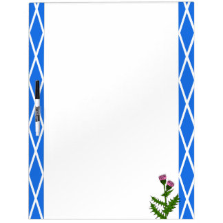 Scottish thistle dry erase board