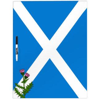 Scottish thistle dry erase board