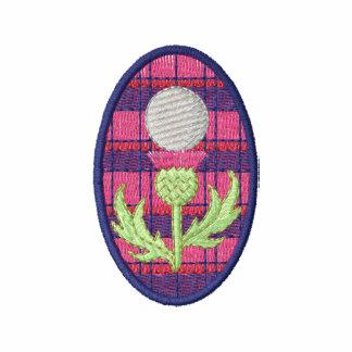 Scottish Thistle Golf Design Polo