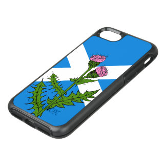 Scottish thistle OtterBox symmetry iPhone 8/7 case