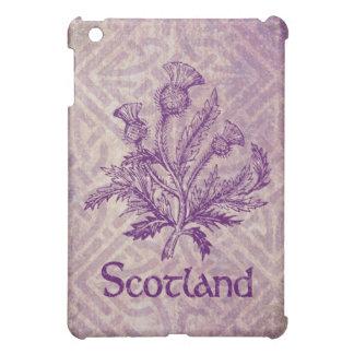 Scottish Thistle Purple Celtic Knot iPad Mini Case