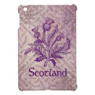 Scottish Thistle Purple Celtic Knot iPad Mini Covers