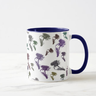 Scottish Thistles Mug