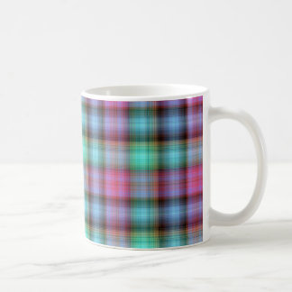 Scottish violet/blue coffee mug