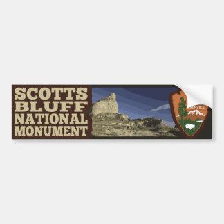 Scotts Bluff National Monument Bumper Sticker
