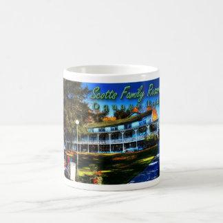 Scott's Family Resort Coffee Cup Basic White Mug