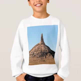 Scottsbluff Nebraska Chimney Rock Spire Sweatshirt