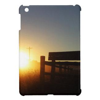 Scottsbluff Nebraska Farming Harvest Fall Sunset Case For The iPad Mini