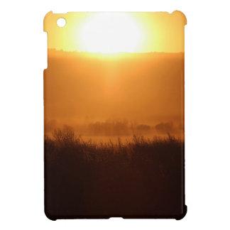Scottsbluff Nebraska Farming Harvest Fall Sunset iPad Mini Cases