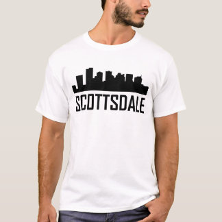 Scottsdale Arizona City Skyline T-Shirt