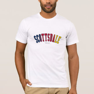 Scottsdale in Arizona state flag colors T-Shirt