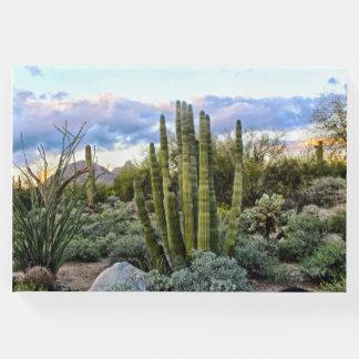 Scottsdale Succulent Sunset Guest Book
