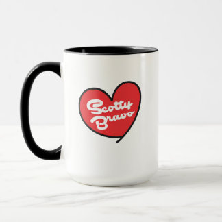 Scotty Bravo Black 15 oz Combo Mug