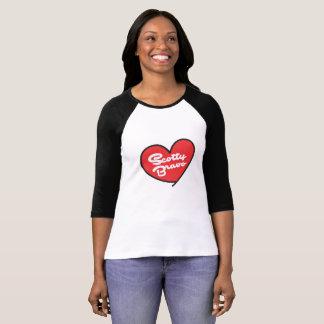 Scotty Bravo Women's 3/4 Sleeve Raglan T-Shirt