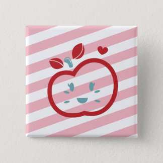 Scotty Valentine Sweet Apple 15 Cm Square Badge