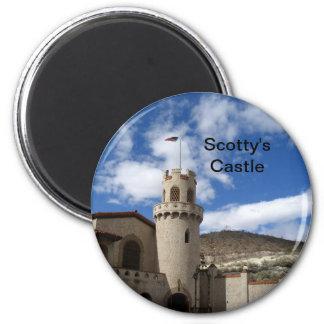Scotty's Castle, DVNP 6 Cm Round Magnet