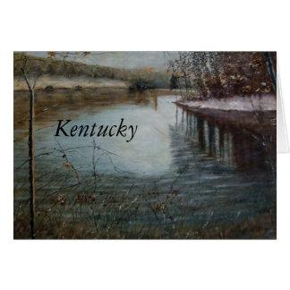 SCOTTY'S RETREAT KENTUCKY  GREETING CARD