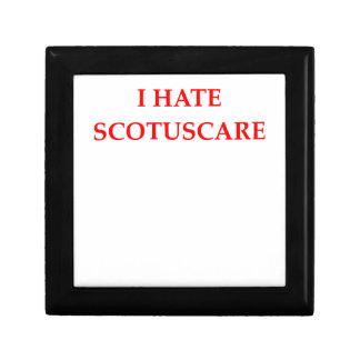 SCOTUS SMALL SQUARE GIFT BOX