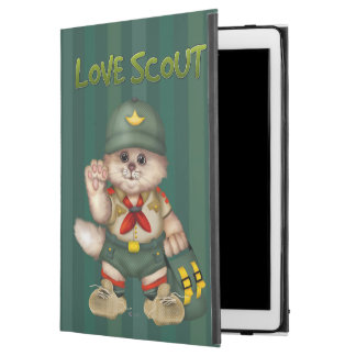 "SCOUT CAT  CUTE iPad Pro iPad Pro 12.9"" Case"