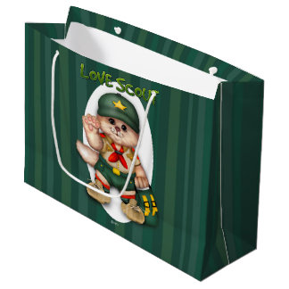 SCOUT CAT GIFT BAG LARGE