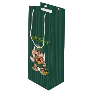 SCOUT CAT Gift Bag - Wine