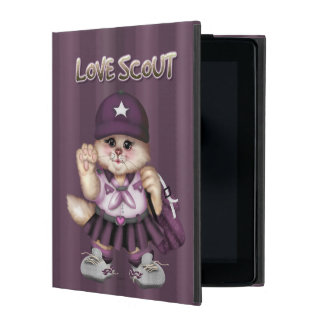 SCOUT CAT GIRL  CUTE iPad Mini iPad Cover