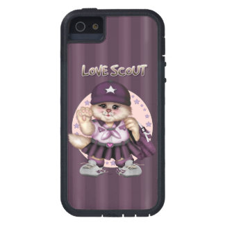 SCOUT CAT GIRL iPhone SE + iPhone 5/5S Tough Xtrem iPhone 5 Covers