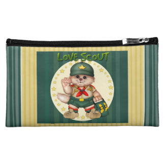 SCOUT CAT Small Medium Cosmetic Bag