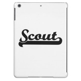 Scout Classic Job Design iPad Air Cover