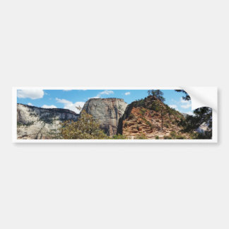 Scout Lookout Zion National Park Utah Bumper Sticker