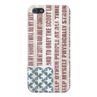 Scout Oath Cell Phone Case Case For iPhone 5/5S