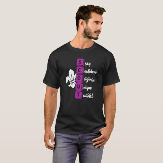 Scout T Shirt Sexy Confident Original Unique Truth