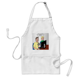Scout Video Games Standard Apron