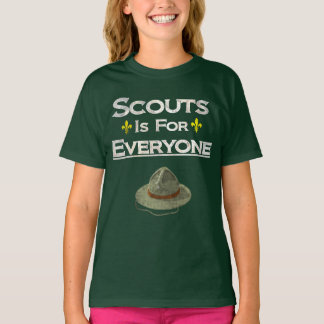 Scouts Is For Everyone Gender Equality T-Shirt